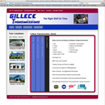 Gillece Transmissions Website
